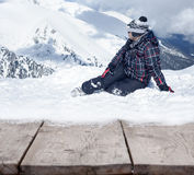 Winter sport  and holiday concept Stock Photography