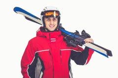 Winter sport, man Stock Photo