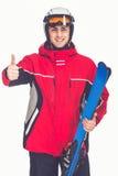 Winter sport, man Royalty Free Stock Photo