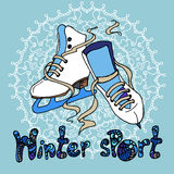 Winter sport Royalty Free Stock Photo