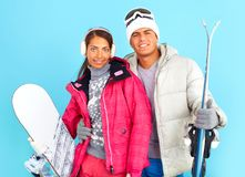Winter sport Stock Image