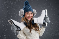 Winter sport Stock Image