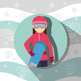 Winter sport and wear accesories Stock Photography