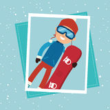 Winter sport wear and accesories Stock Image