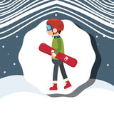 Winter sport wear and accesories Royalty Free Stock Photography