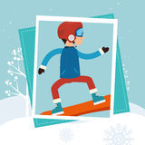 Winter sport wear and accessories Stock Image