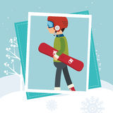 Winter sport wear and accessories Stock Photography