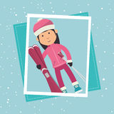 Winter sport wear and accessories Royalty Free Stock Photos