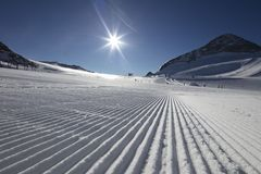 Winter sports. Royalty Free Stock Image