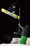 Winter Sports Big Air Contest Stock Images