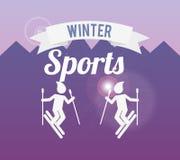 Winter sports design Stock Photography