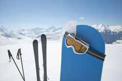 Winter sports equipment Stock Image
