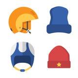 Winter Sports Head Wear Set Royalty Free Stock Photos