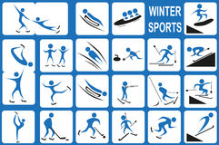Winter sports Royalty Free Stock Image