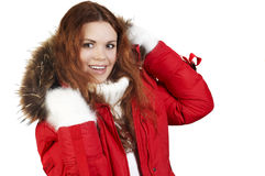 Winter sports jacket Royalty Free Stock Photo