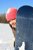 Winter sports. Snowboarder. Stock Photos