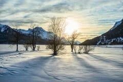 Winter at St. Moritz Stock Photo
