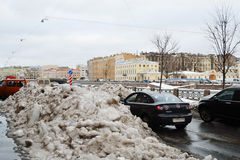Winter St.Petersburg Royalty Free Stock Photos