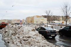 Winter St.Petersburg royalty free stock photos