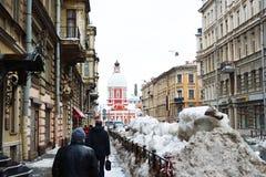 Winter St.Petersburg Stock Images