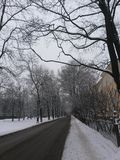 Winter in St Petersburg Lizenzfreie Stockbilder