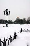 Winter in St Petersburg stockfotos