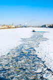 Winter in St.-Petersburg. Russia Royalty Free Stock Images