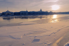 Winter in St.Petersburg Stock Photography