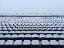 Winter stadium Stock Images