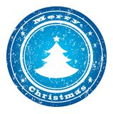 Winter stamp VECTOR Stock Photography