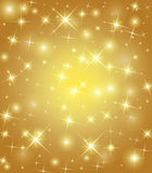 Winter star background Royalty Free Stock Photography