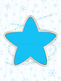 Winter star Royalty Free Stock Images