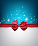Winter starry christmas background. Royalty Free Stock Images