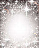 Winter starry christmas background. Stock Images