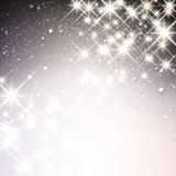 Winter starry christmas background. Stock Photography