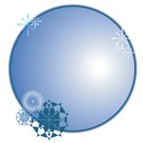 Winter sticker Royalty Free Stock Photography