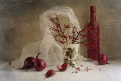 Winter still life Stock Photo