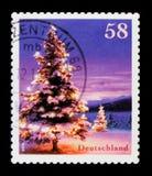 Winter-Stimmung 2013, Weihnachten-serie 2013, circa 2013 Lizenzfreies Stockbild