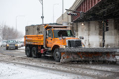 Winter Storm Hercules Stock Images