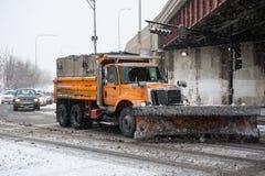 Winter Storm Hercules Stock Images