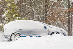 Winter storm in South New Jersey Royalty Free Stock Photography