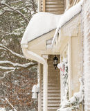 Winter storm in South New Jersey Royalty Free Stock Images