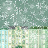 Winter street Royalty Free Stock Photos