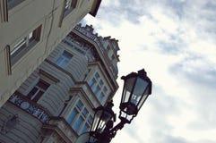 Winter Street Lamp Prague Royalty Free Stock Photography