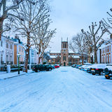 Winter Street, London - England Royalty Free Stock Photography