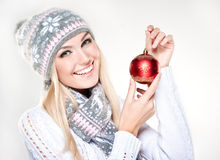 Winter style. North beauty. Stock Photo