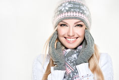 Winter style. North beauty. Royalty Free Stock Photography