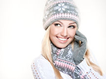Winter style. North beauty. Royalty Free Stock Photo