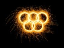 Winter, Summer Olympics Games simbol Royalty Free Stock Image