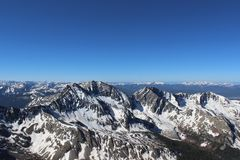 Free Winter Summit View From Huron Peak, Colorado Rocky Mountains Stock Photography - 122387782